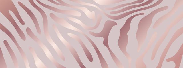 Luxury animal skin background, Pink zebra skin pattern, pink tiger background vector illustration.