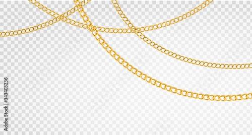 Fotografering Golden chain
