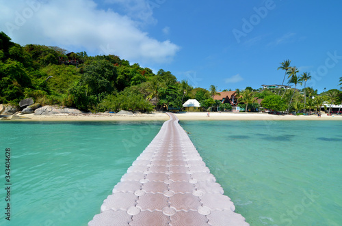 Платно Leela beach, Koh Phangan in Thailand