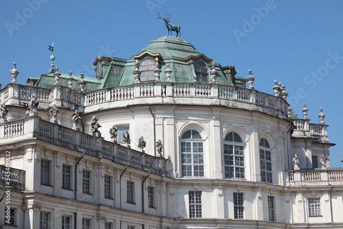 Vászonkép The hunting residence of Stupinigi, one of the 18th century Residences of the Ro