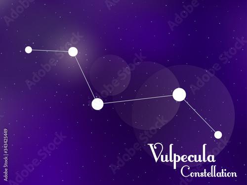 Photo Vulpecula constellation