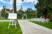 Decorated Cooked Wedding Venue