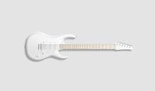 Blank White Electric Guitar Mo...