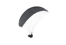 Blank Black Paraglider With Pe...