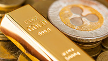 Ripple Coin (XPR) And Gold Bar...