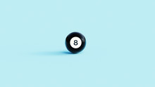 Pool Ball, Magic 8 Ball 3d Ill...