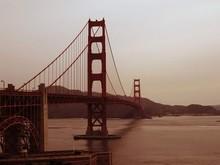 Golden Gate Bridge Over River