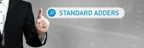 Standard Adders Canvas Print