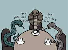 Venomous Snakes Communicate Wi...