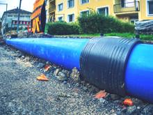 Water Pipe Repair. City Infras...