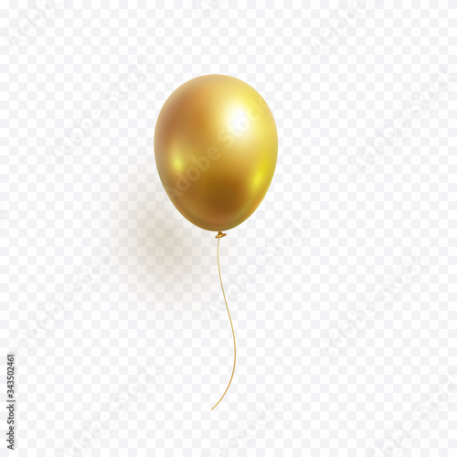 Fotografie, Obraz Balloon isolated on transparent background