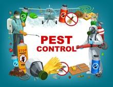 Pest Control Service Vector Po...