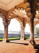 Architectural Detail Of Agra F...