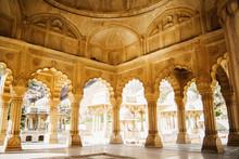 Gatore Ki Chhatriyan Temple In Jaipur, India