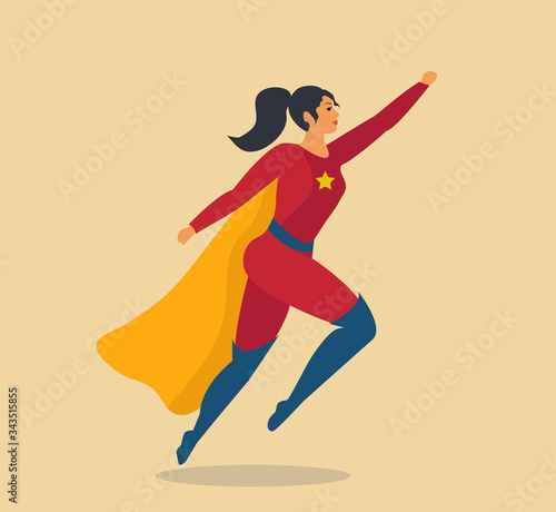 фотография Woman superhero