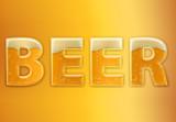Beer Texture Text Effect Mockup - 343517060