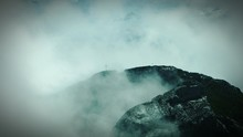 Scenic View Of Mount Pilatus Against Cloudy Sky