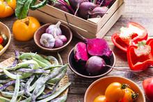 Fresh Organic  Homegrown Veget...