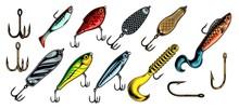 Colorful Vintage Fishing Baits...