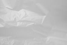 White Plastic Bag Background T...