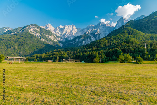 Fototapety, obrazy: lakes and rivers in the woods alpine landscape of Slovenia