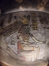 Hieroglyphs And Paintings Of A...