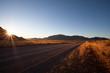 Gravel Road at sunset