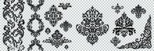 Damask Pattern Vector Element....