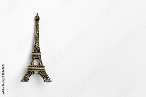 Valokuvatapetti The small Eiffel tower as a souvenir from Paris