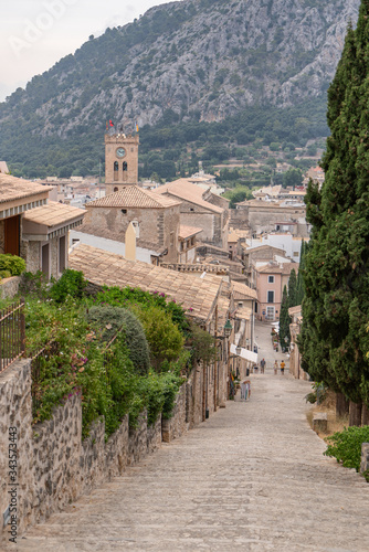 Fotografering The 365 Calvari Steps in Pollença