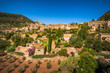 Valldemossa town in Majorca Balearic Islands