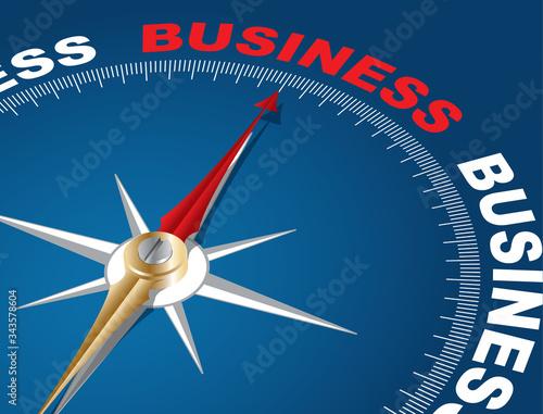 Business Tableau sur Toile