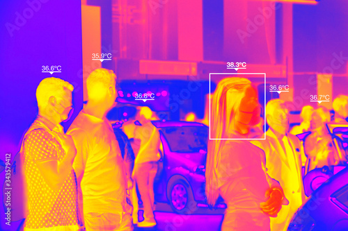 Thermal Chamber to control body temperature Fotobehang