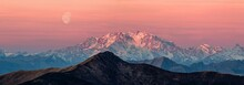 Panoramic View Of Monte Rosa A...