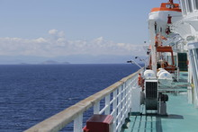 The Tanker Is Anchored Off The...