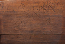 Full Frame Shot Of Scratched Wooden Surface