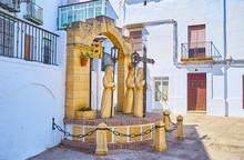 Semana Santa Monument In Arcos...