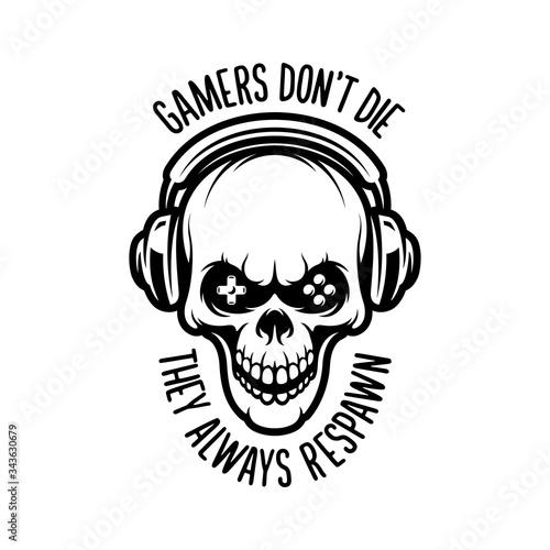 Video games related t-shirt design Tapéta, Fotótapéta