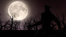 Illustration Of A Werewolf Dur...