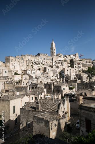 Beautiful italian city view of Altamura italian medieval arhitecture Wallpaper Mural