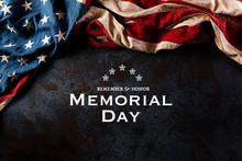 Happy Memorial Day. American F...