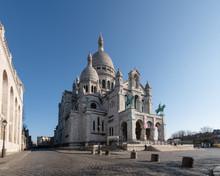 Basilique Du Sacré Cœur De Montmartre Pendant Le Confinement 2020