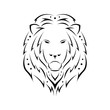 Exotic tribal tattoos with lion head