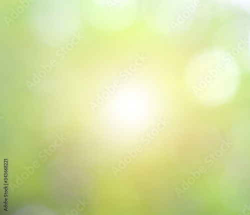 Fototapety, obrazy: green bokeh background