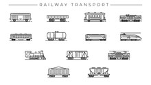 Railway Transport Concept Line...