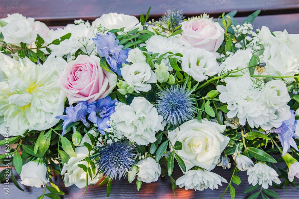 Fototapeta Piękny bukiet kwiatów