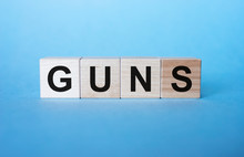 GUNS - Cube With Letters, Sign...
