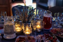 Dinner Table With Candles Read...