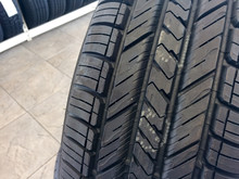 New Tires In Store On Display By Floor