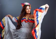 Pretty Woman Dancing Colombian...